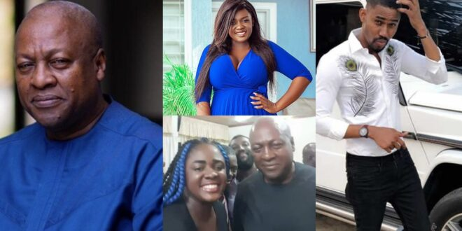 'I don't see what Mahama saw in a shapeless bag of rice like Tracey Boakye'- Ibrah One 1