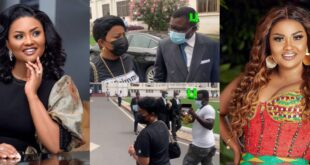 """I have nothing to say""- Nana Ama Mcbrown walks out on reporter after court appearance (video) 16"