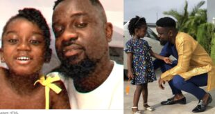 """I love you Titi""- Sarkodie showers love on his daughter as she celebrates her birthday (video) 12"