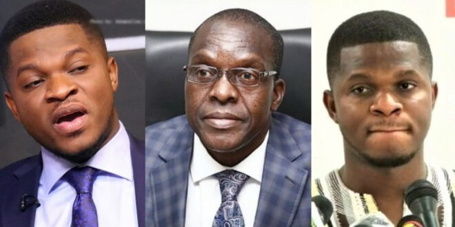 """I speak for the whole Ghana, not NDC""- Bagbin fires Sammy Gyamfi 1"