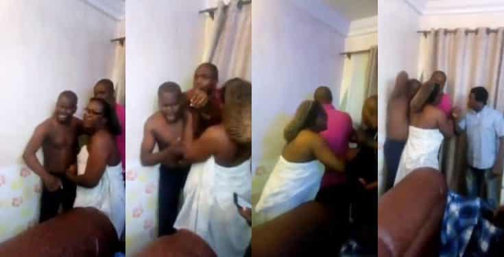 Pastor caught sleeping with a female church member who is married 2
