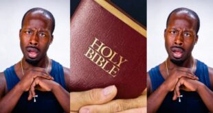 'If anyone tells you the Bible will lead you to heaven, that person is a thief'- pastor reveals 2