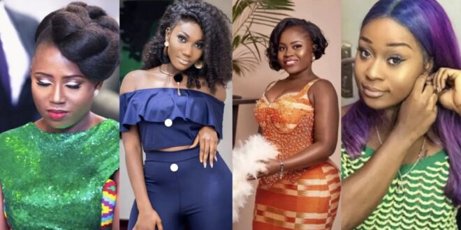 In Ghana, there are a number of well-known female celebrities who work as nurses in the real world (photos) 1