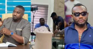 John Dumelo and Prince David Osei Clash for the first time after the Elections (video) 5