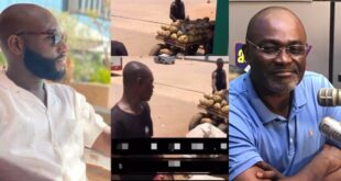 Kennedy Agyapong's son buys all coconut from a poor seller, asked him to go home and rest (video) 10