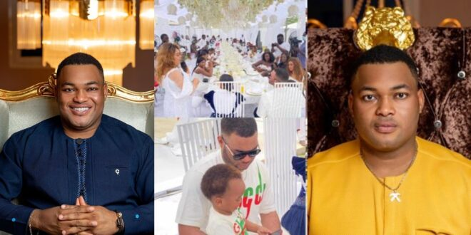 'The rich don't obey the laws' - Ghanaians react to Kwadwo Safo Jnr's birthday party breaking all C()vid regulations (video) 1