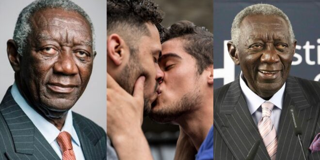 'LGBT is a taboo in Ghana and should not be entertained'- Former President Kufour 1