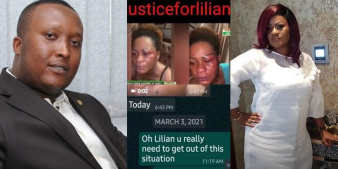 Lilian's last video and chat with a friend before she d!ed shows her husband assaulting her physically. 1