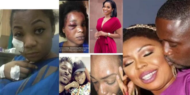 List of 5 Ghanaian female celebrities who have been beaten by their lovers (photos) 1