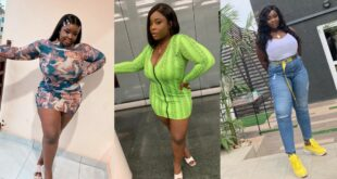Maame Serwaa's 10 Wild And Sexy Photos That Have Ghanaian Men Licking Their Lips 13