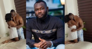 Married Prince David Osei Spotted Passionately smooching a lady in the name of acting (video) 6