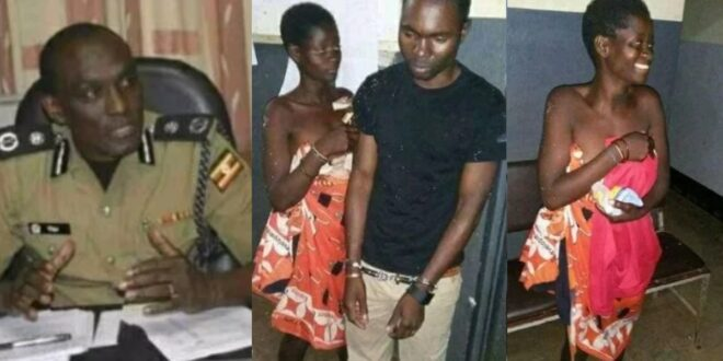 """""""Marry her or go to jail""""- Police tell a man who r@ped mad woman (photos) 1"""