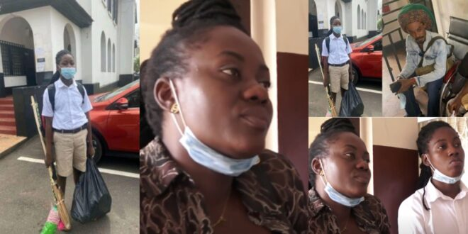 Mother of Rasta Boy who was refused Admission at Achimota speaks, says the school don't want to even talk to them 1
