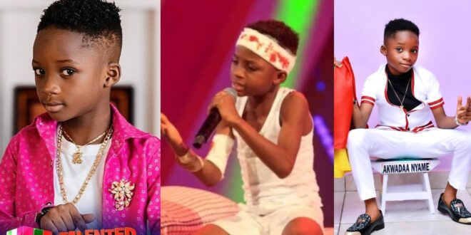 """""""My father rejected me when my mum was pregnant""""- 8 years old Talented Kidz contestant Akwadaa Nyame 1"""