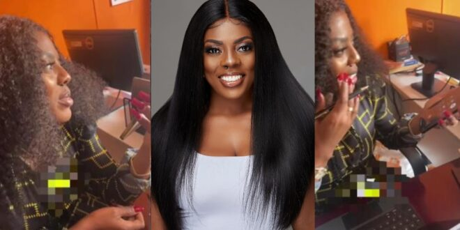 Nana Aba Anamoah regrets after she was given lotto numbers which won but she refused to stake. 1