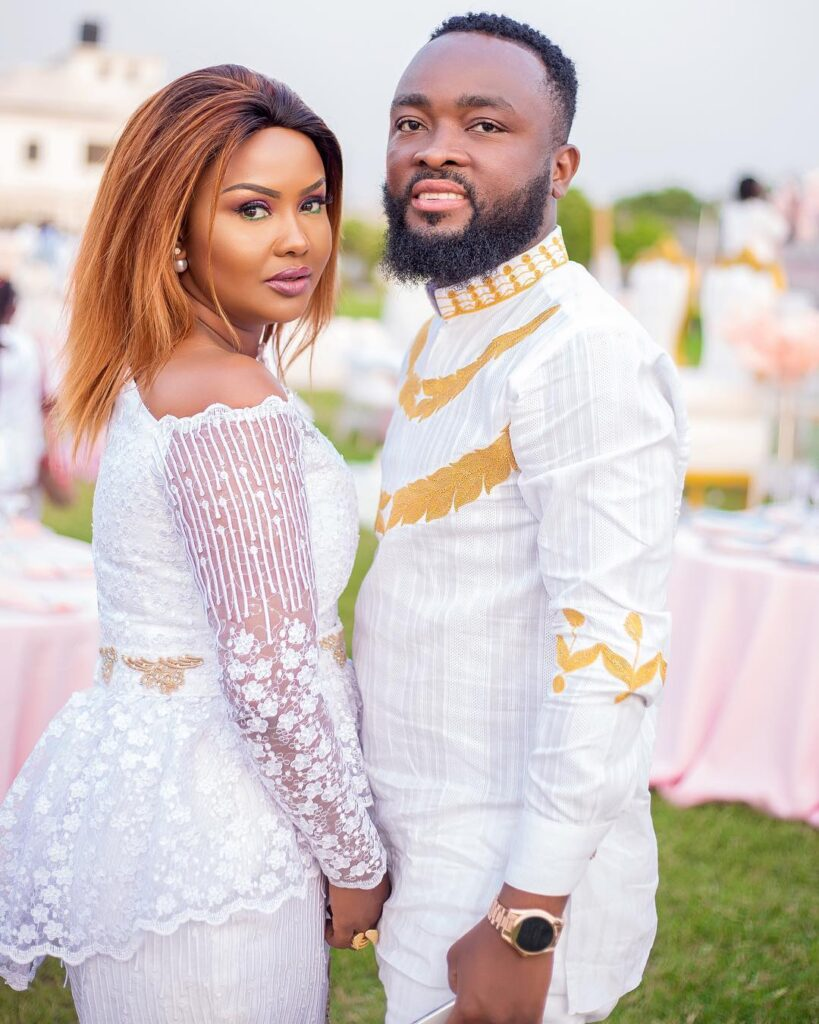 Mcbrown's husband, Maxwell rubbishes divorce rumors with these words
