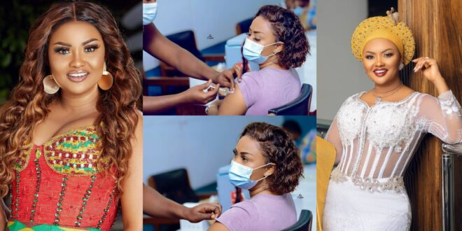 Nana Ama McBrown speaks about her experience with the C()VID vaccine. 1