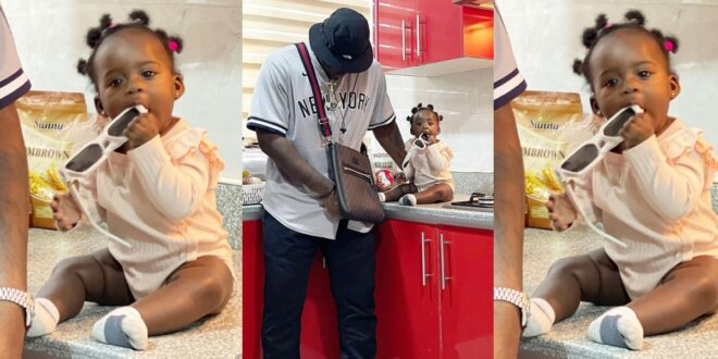 New beautiful and cute photos of Fella and Medikal's daughter surfaces 1