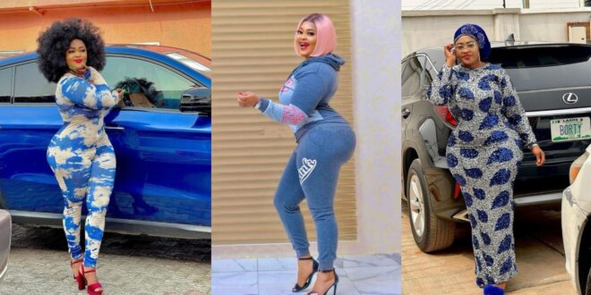 Photos of Omobutty The Nigerian Actress with heavy curves. 1