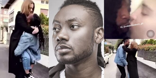 Pappy Kojo flaunts his white girlfriend after reports that he was gay (video) 1