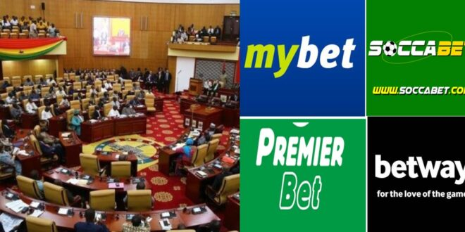 Parliamentarians in Ghanademanding that sports betting be banned in the country. 1