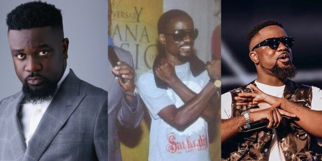 """Picture of Sarkodie addressed as """"and co"""" when he was poor goes viral 1"""