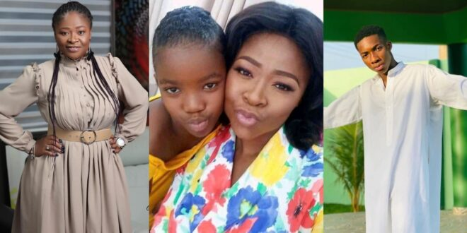 Pictures of Actress Portia Asare and her two kids surfaces online 1