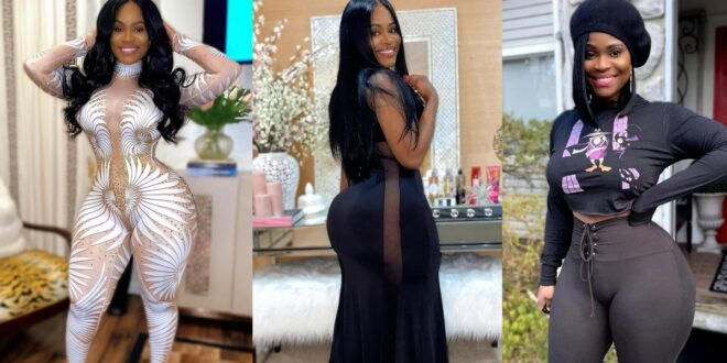 Pictures of Gigi Empress as she showcases her perfect shape and form on Instagram (photos) 1