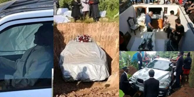 Pictures of Rich people who were buried with their wealth (photos) 1