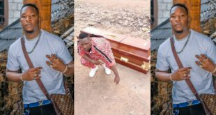 Popular Rapper buys his own coffin to be buried in when he is no more (photo) 50