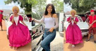 Regina Daniels returns to movie acting after giving birth (photos) 26