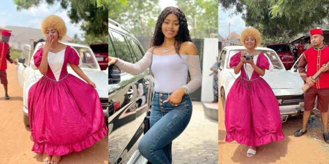 Regina Daniels returns to movie acting after giving birth (photos) 1