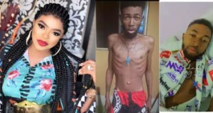 See a recent photo of Solomon looking healthy a month after Bobrisky helped him with his leukemia. 114