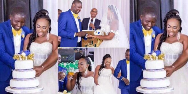 See pictures from the colorful wedding of UTV presenter Afia Okyere (photo) 1