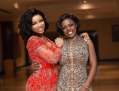 Nana Aba Anamoah warns serwaa Amihere not to lie to young girls about her life. 2