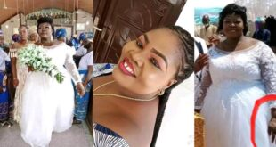 Sick Bride who was discharged from hospital to attend her wedding d!es the next day (photos) 2