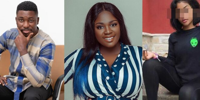 """Please chop me so I can be popular like Tracey Boakye""- slay queen begs Aplus 1"