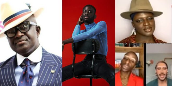 Son of KKD who is a g@y talks on video with his colleagues discussing their husbands (video) 1