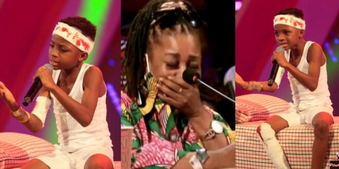 Talented Kidz Judges in tears as Raymond raps on Accidents In Ghana 1