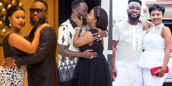 The 10 Most Beautiful Photographs Of Nana Ama And Her Husband 1