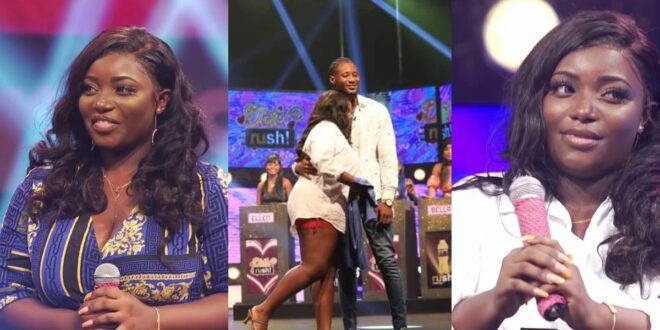 'They knew each other before the show'- Ghanaians reacts to Date Rush Sandra and her newfound partner 1