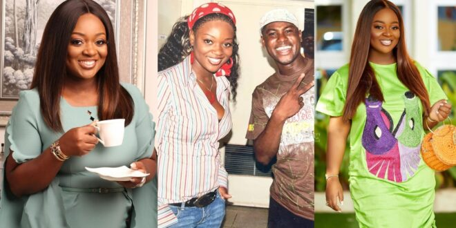 Throwback picture of Jackie Appiah Looking like a Gangster surfaces Online 1