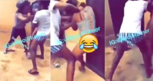 Two University slay queens clash after they found out they were been sponsored by the same sugar Daddy (video) 35