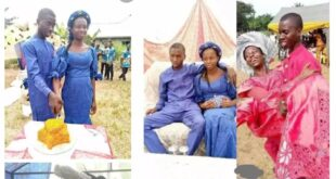 Two teenagers go viral after their Traditional wedding photos surfaced online (photos) 125
