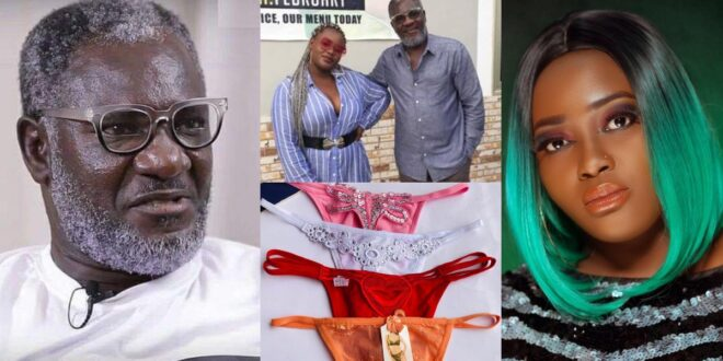 """""""Ungrateful girl, I have even bought G-string panties for you""""- Ebony's father tells Kim Maureen 1"""