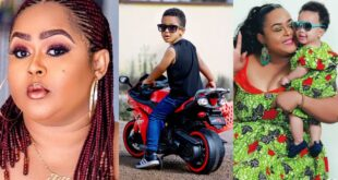 """You made me forget all my pain and sorrow""- Vivian Jill eulogized her son Alfie 19"