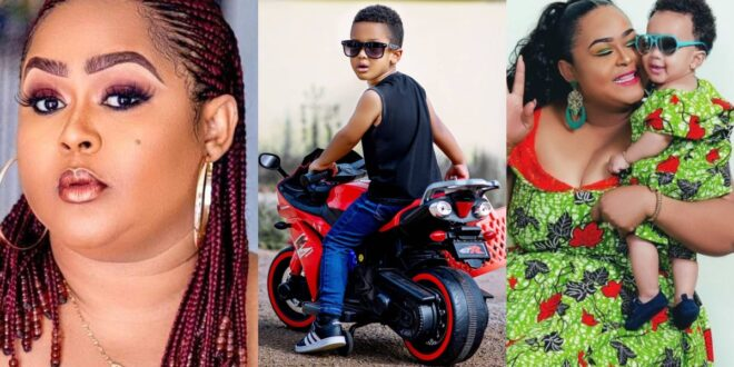 """""""You made me forget all my pain and sorrow""""- Vivian Jill eulogized her son Alfie 1"""