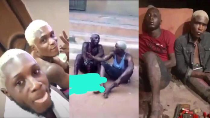 Nigerian big boys arrested in robbery operation days after flaunting off online - Videos