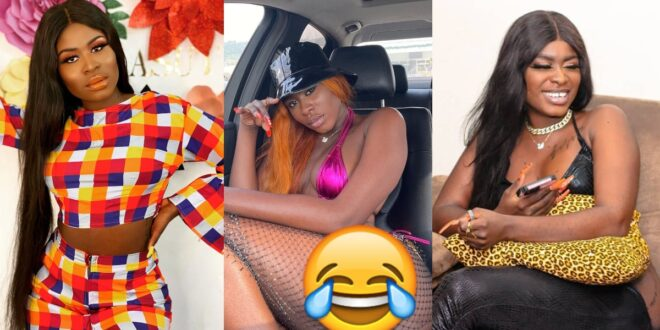 Yaa Jackson was heavily trolled for posting a photo of herself n*de on social media. 1