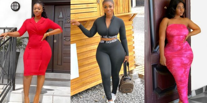 Yaw Dabo's girlfriend Vivian Okyere, shares stunning pictures of her perfect body on social media (photos) 1